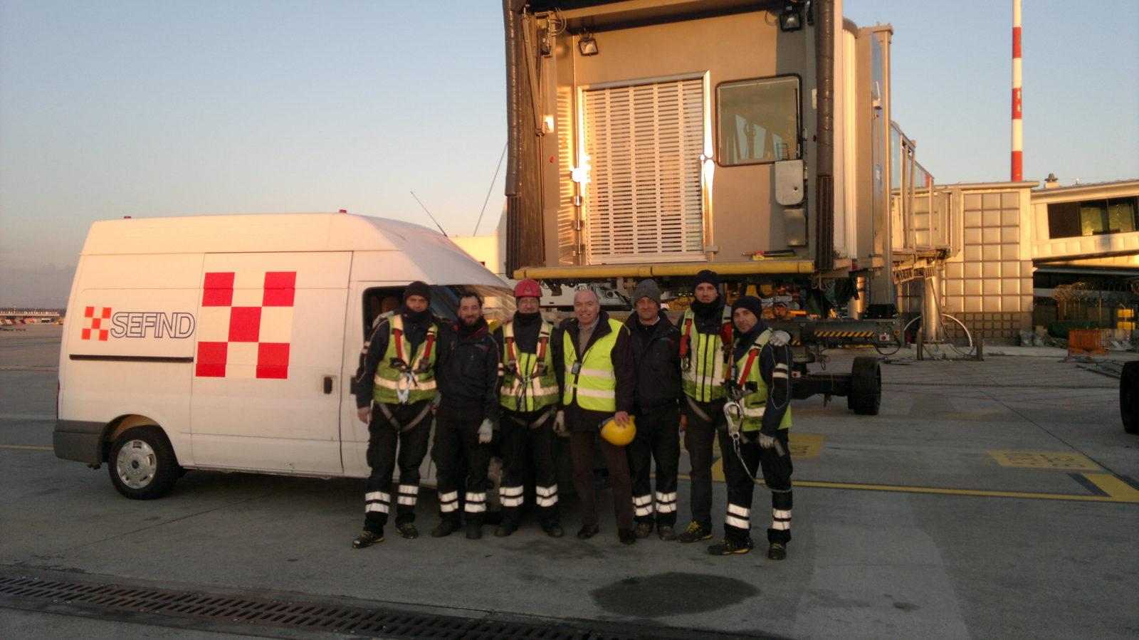 Read more about the article Installazioni Aeroporto Milano Malpensa