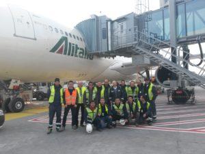 """Read more about the article Installazione Pontili di Imbarco presso Aeroporto """"Leonardo da Vinci"""""""